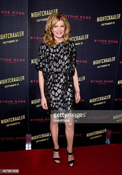 Actress Rene Russo attends the 'Nightcrawler' New York Premiere at AMC Lincoln Square Theater on October 27 2014 in New York City