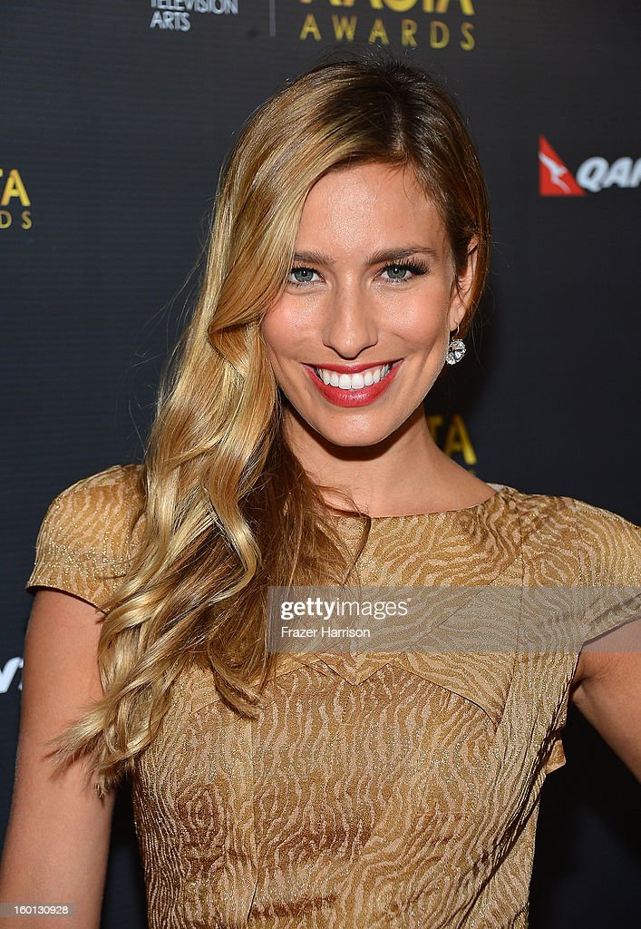 Actress Renee Bargh arrives at the 2ND AACTA International Awards at Soho House on January 26, 2013 in West Hollywood, California.