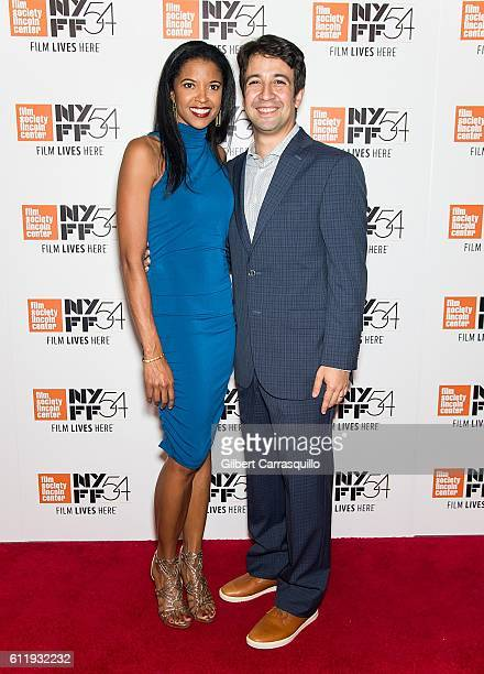 Actress Renee Elise Goldsberry and actor composer rapper and writer LinManuel Miranda attend the 54th New York Film Festival 'Manchester by the Sea'...