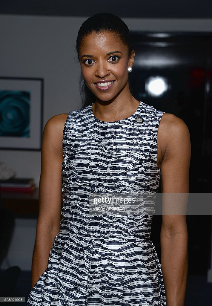 Actress Renee Elise Goldsberry attends the 2016 Tony Awards Meet The Nominees Press Reception on May 4, 2016 in New York City.