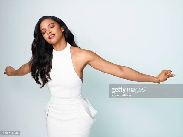 Renée Elise Goldsberry is photographed for Essence Magazine on January 3 2017 in New York City