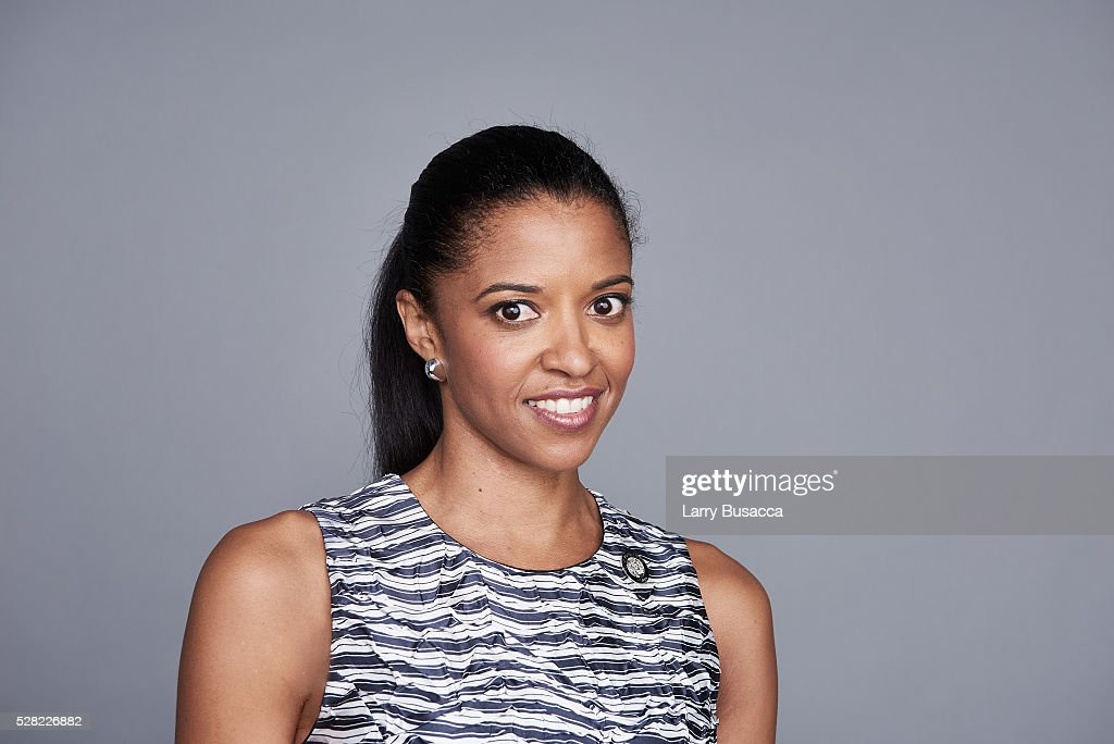 Actress Renee Elise Goldsberry poses for a portrait at the 2016 Tony Awards Meet The Nominees Press Reception on May 4, 2016 in New York City.
