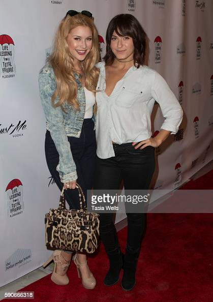 Actress Renee Olstead and actress Scout Compton attend the launch party for MJ Dougherty's 'Life Lessons from a Total Failure' at The Sandbox on...
