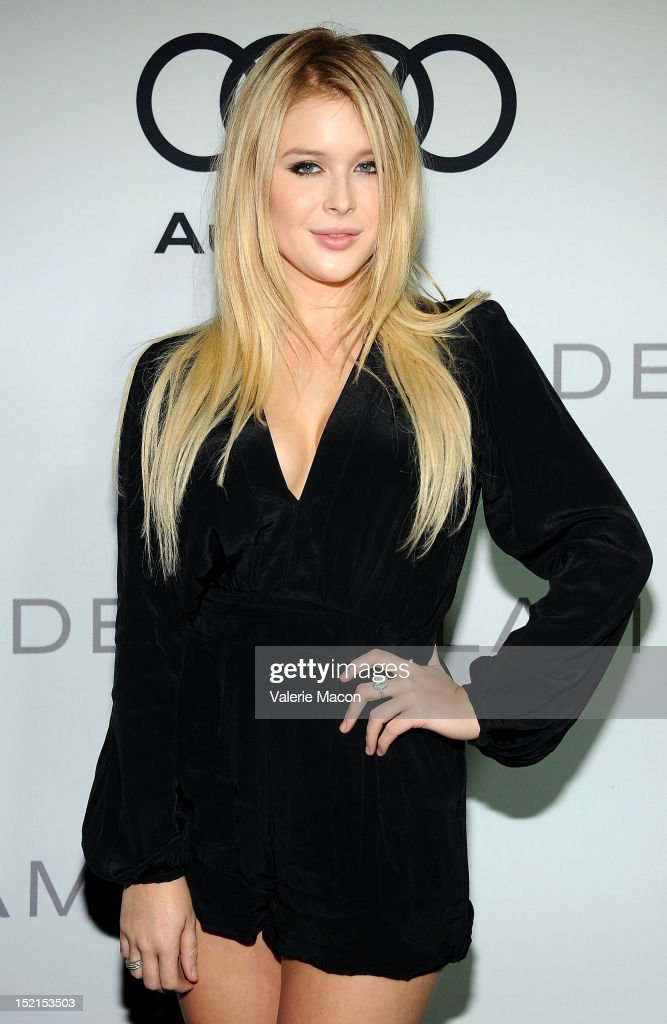 Actress Renee Olstead arrives at Audi And Derek Lam Kick Off Emmy Week 2012 party at Cecconi's Restaurant on September 16, 2012 in Los Angeles, California.