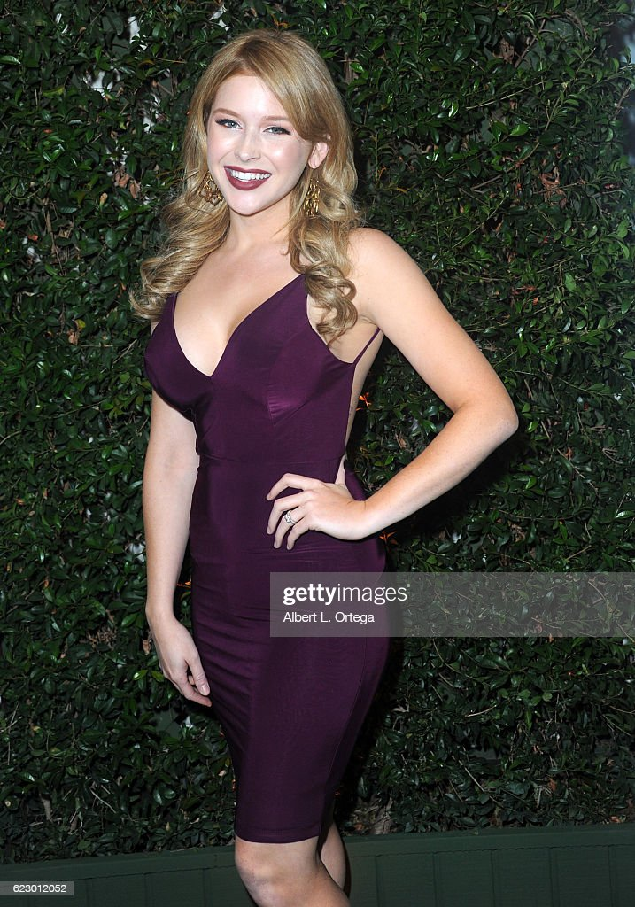 Actress Renee Olstead arrives for Farm Sanctuary's 30th Anniversary Gala held at the Beverly Wilshire Four Seasons Hotel on November 12, 2016 in Beverly Hills, California.