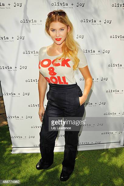 Actress Renee Olstead attends Kari Feinstein's Style Lounge at Sunset Marquis Hotel Villas on September 17 2015 in West Hollywood California