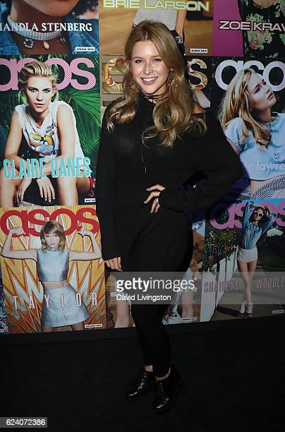 Actress Renee Olstead attends the launch of ASOS Magazine US Edition at The Sayers Club on November 17 2016 in Hollywood California