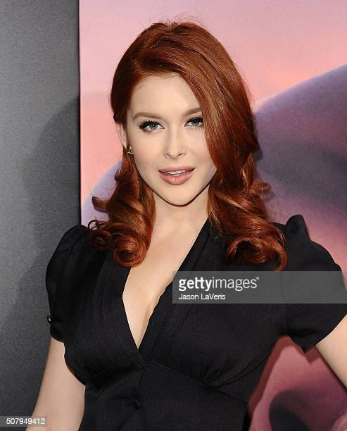 Actress Renee Olstead attends the premiere of 'The Choice' at ArcLight Cinemas on February 1 2016 in Hollywood California