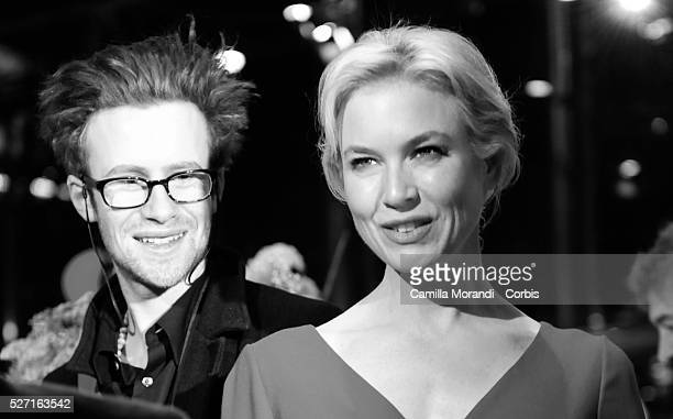 Actress Renee Zellweger and Mark Rendall at the premiere of 'My One and Only' during the 59th Berlin Film Festival