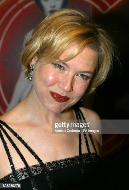 Actress Renee Zellweger arriving at the Warner West End in London for the UK premiere of Chicago 06/02/03 The muchanticipated sequel to the Bridget...