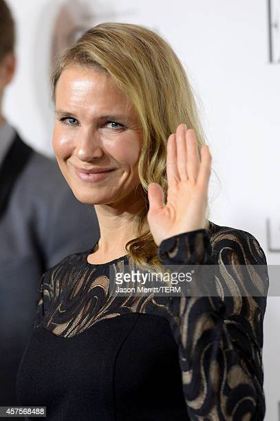 Actress Renee Zellweger attends ELLE's 21st Annual Women in Hollywood Celebration at the Four Seasons Hotel on October 20 2014 in Beverly Hills...