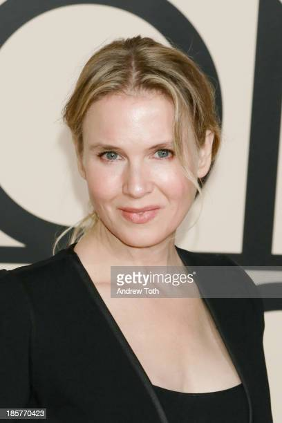 Actress Renee Zellweger attends Giorgio Armani One Night Only New York at SuperPier on October 24 2013 in New York City