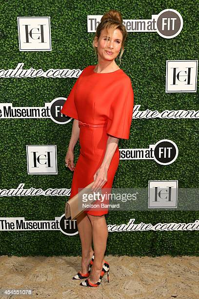 Actress Renee Zellweger attends the 2014 Couture Council Award Luncheon Benefit for the Museum at FIT honoring Carolina Herrera at the David H Koch...