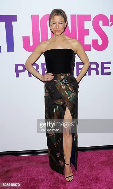 Actress Renee Zellweger attends the 'Bridget Jones' Baby' New York premiere at The Paris Theatre on September 12 2016 in New York City