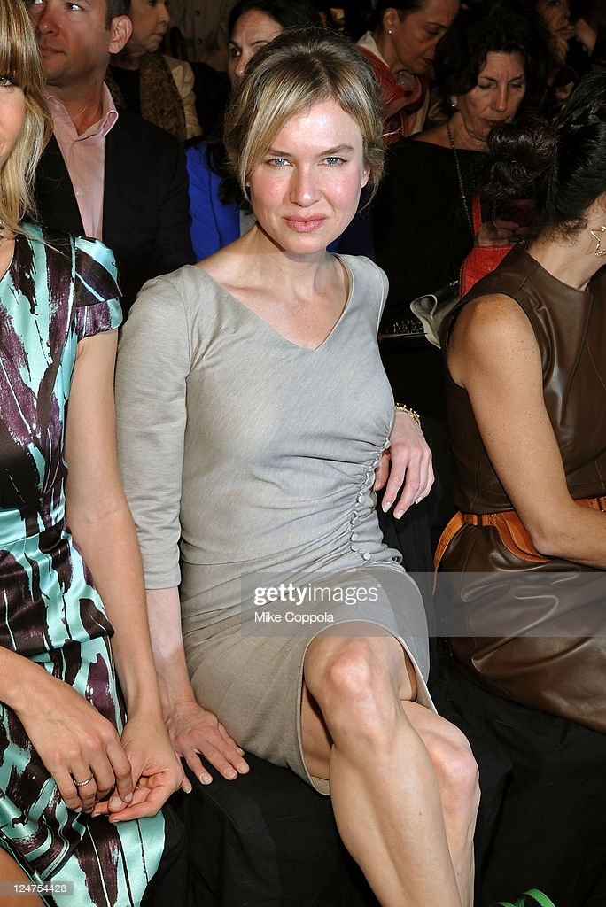 Actress Renee Zellweger attends the Carolina Herrera Spring 2012 fashion show during Mercedes-Benz Fashion Week at The Theater at Lincoln Center on September 12, 2011 in New York City.