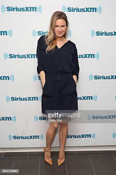 Actress Renee Zellweger visits the SiriusXM Studios on September 12 2016 in New York City