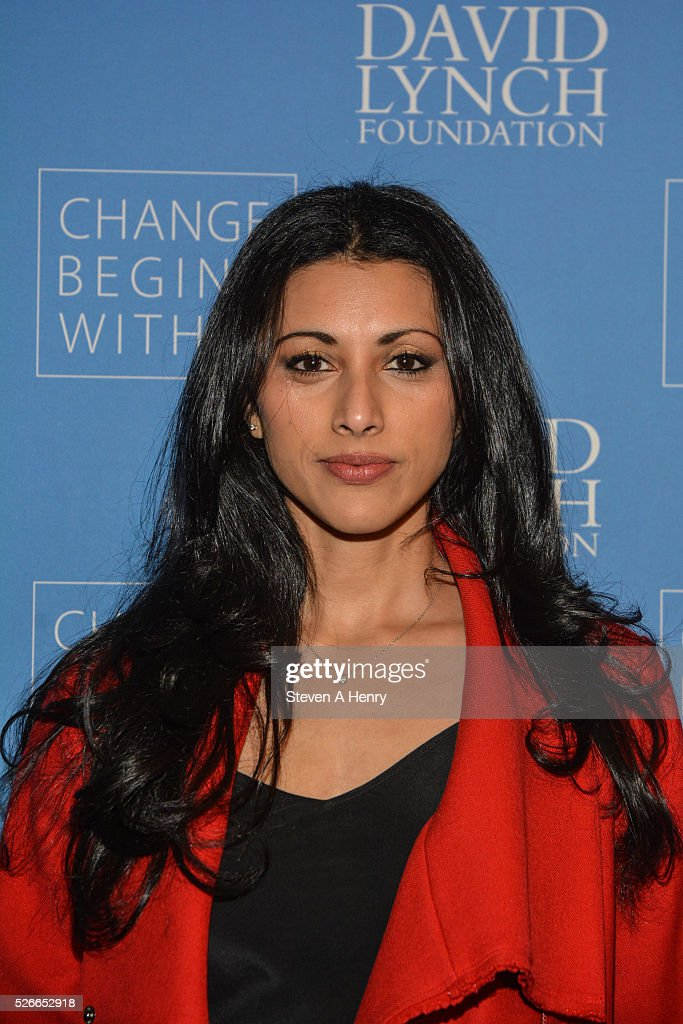 Actress Reshma Shetty attends 'An Amazing Night Of Comedy: A David Lynch Foundation Benefit For Veterans With PTSD' at New York City Center on April 30, 2016 in New York City.