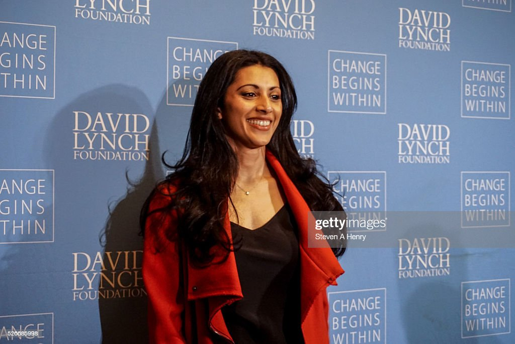 Actress <a gi-track='captionPersonalityLinkClicked' href=/galleries/search?phrase=Reshma+Shetty&family=editorial&specificpeople=4076704 ng-click='$event.stopPropagation()'>Reshma Shetty</a> attends 'An Amazing Night Of Comedy: A David Lynch Foundation Benefit For Veterans With PTSD' at New York City Center on April 30, 2016 in New York City.