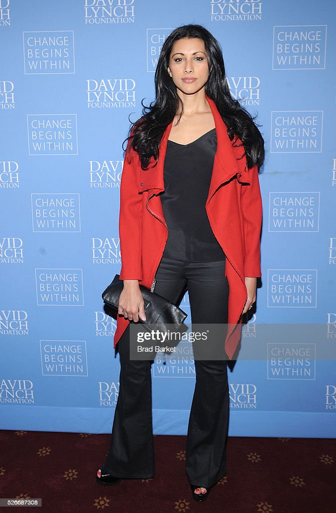 Actress Reshma Shetty attends An Amazing Night Of Comedy: A David Lynch Foundation Benefit For Veterans With PTSD at New York City Center on April 30, 2016 in New York City.