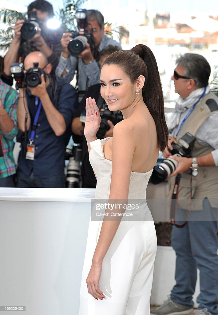Actress Rhatha Phongam attends the 'Only God Forgives' Photocall during the 66th Annual Cannes Film Festival on May 22, 2013 in Cannes, France.
