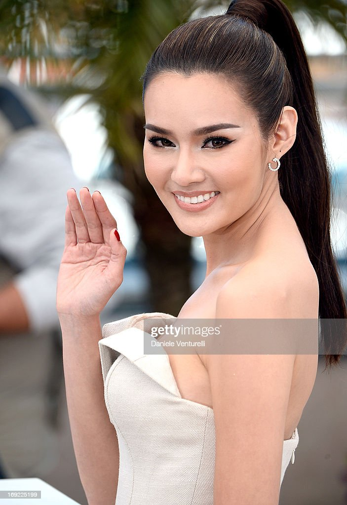 Actress Rhatha Phongam attends the photocall for 'Only God Forgives' during The 66th Annual Cannes Film Festival at the Palais des Festivals on May 22, 2013 in Cannes, France.