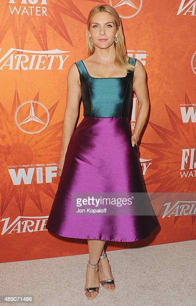 Actress Rhea Seehorn arrives at the Variety And Women In Film Annual PreEmmy Celebration at Gracias Madre on September 18 2015 in West Hollywood...