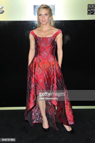 Actress Rhea Seehorn attends AMC Networks 69th Primetime Emmy Awards AfterParty celebration at BOA Steakhouse on September 17 2017 in West Hollywood...