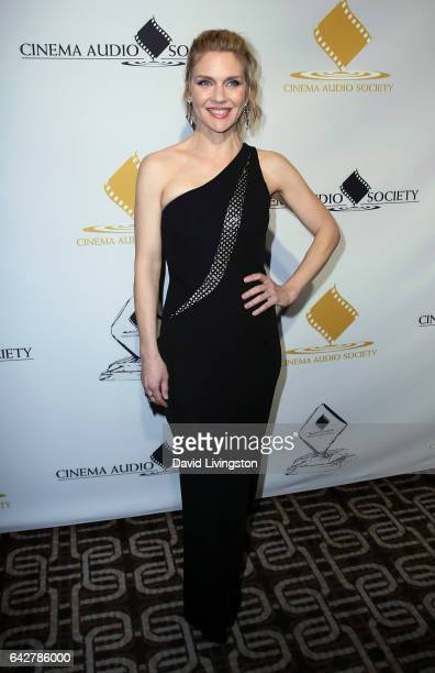 Actress Rhea Seehorn attends the 53rd Annual Cinema Audio Society Awards at Omni Los Angeles Hotel at California Plaza on February 18 2017 in Los...