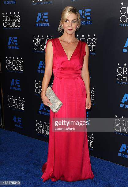 Actress Rhea Seehorn attends the 5th annual Critics' Choice Television Awards at The Beverly Hilton Hotel on May 31 2015 in Beverly Hills California