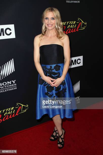 Actress Rhea Seehorn attends the premiere of AMC's 'Better Call Saul' Season 3 at Arclight Cinemas Culver City on March 28 2017 in Culver City...