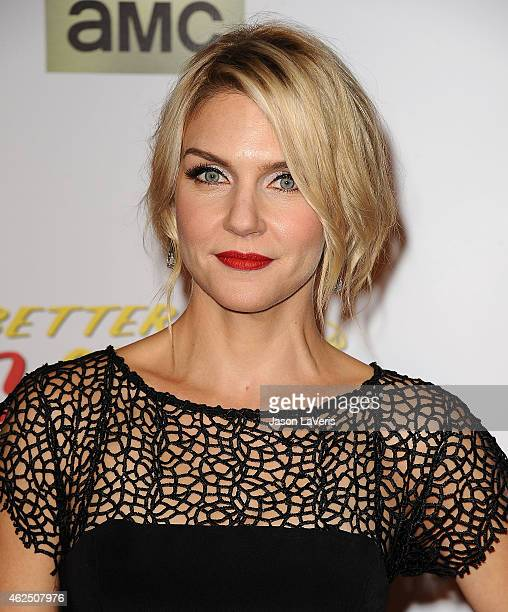Actress Rhea Seehorn attends the premiere of 'Better Call Saul' at Regal Cinemas LA Live on January 29 2015 in Los Angeles California