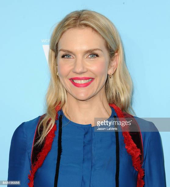 Actress Rhea Seehorn attends Variety and Women In Film's 2017 preEmmy celebration at Gracias Madre on September 15 2017 in West Hollywood California