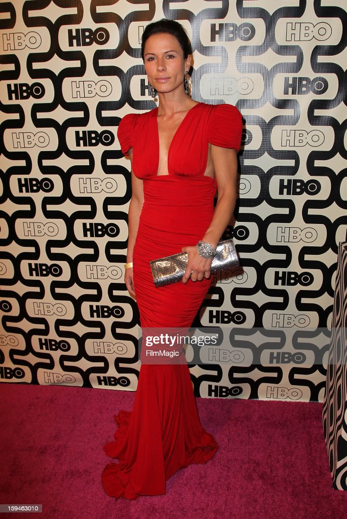 Actress Rhona Mitra attends HBO's Official Golden Globe Awards After Party held at Circa 55 Restaurant at The Beverly Hilton Hotel on January 13, 2013 in Beverly Hills, California.