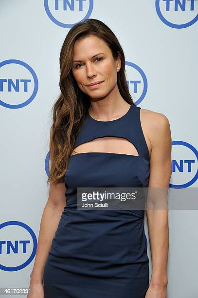 Actress Rhona Mitra attends the 2014 TCA Winter Press Tour Turner Broadcasting Presentation on January 10 2014 in Pasadena California