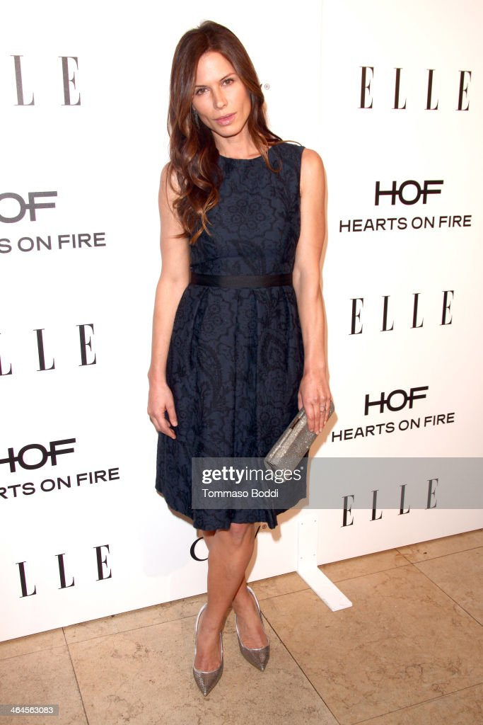 Actress Rhona Mitra attends the ELLE Women In Television Celebration held at the Sunset Tower on January 22, 2014 in West Hollywood, California.