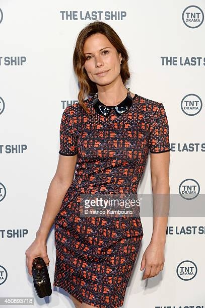 Actress Rhona Mitra attends The Last Ship Survival Is An Art at DIA 545 on June 19 2014 in New York City JPG