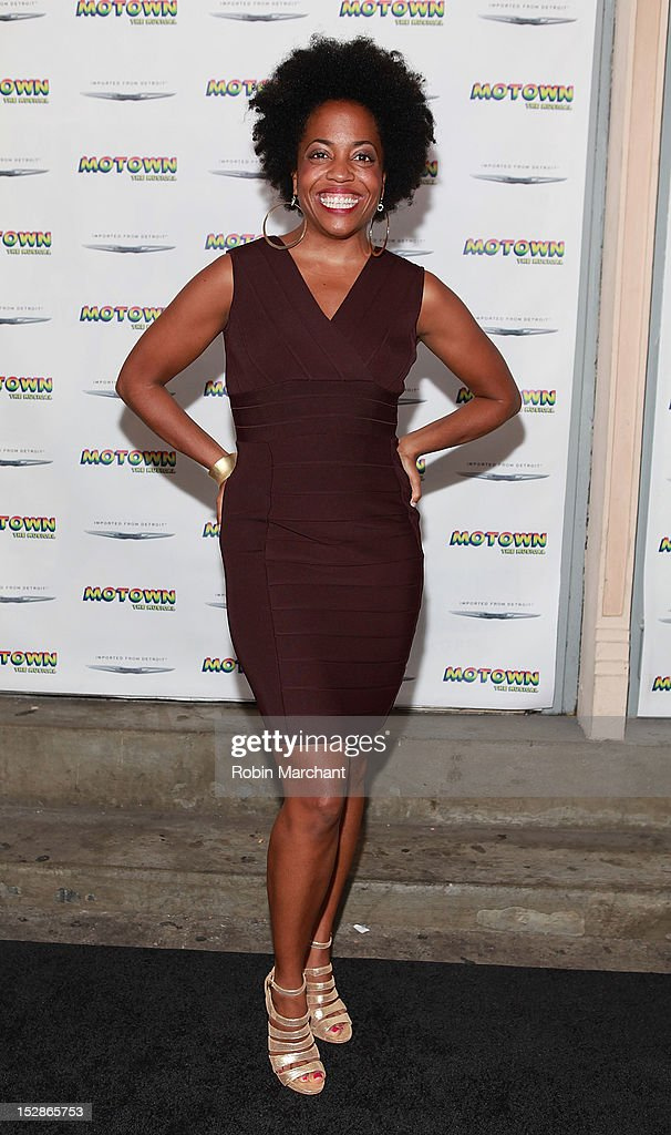 Actress Rhonda Ross Kendrick attends 'Motown The Musical' Broadway Spring Launch Event at Nederlander Theatre on September 27 2012 in New York City