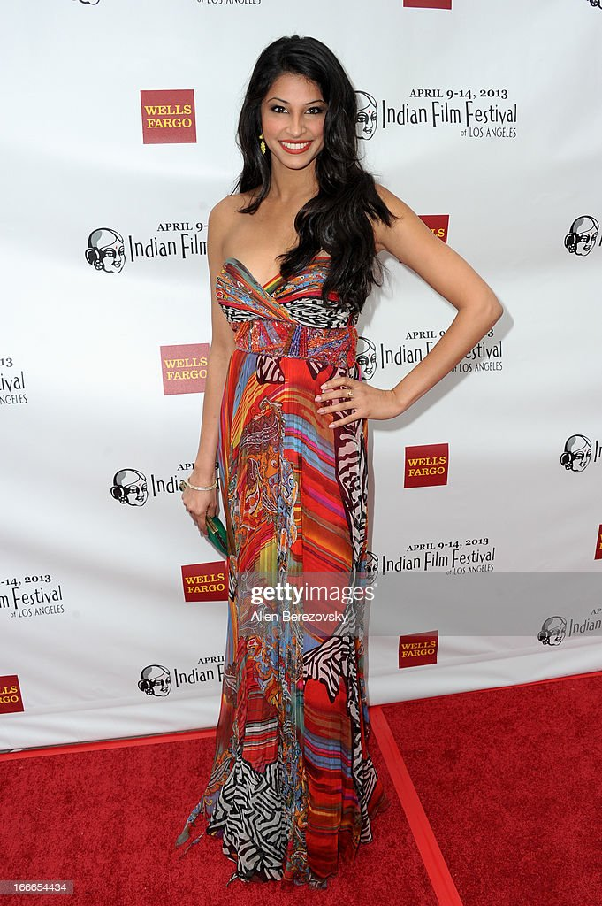 Actress Richa Shukla attends the 11th Annual Indian Film Festival of Los Angeles Closing Night Gala premiere of 'Midnight's Children' at ArcLight Hollywood on April 14, 2013 in Hollywood, California.