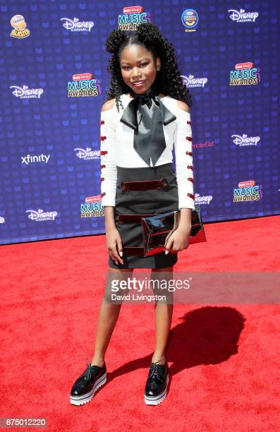 Actress Riele Downs attends the 2017 Radio Disney Music Awards at Microsoft Theater on April 29 2017 in Los Angeles California