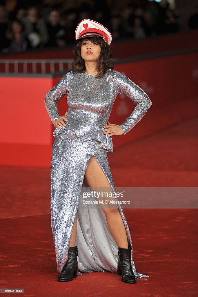 Actress Rii Sen attends the ''Tasher Desh' Premiere during the 7th Rome Film Festival at the Auditorium Parco Della Musica on November 11, 2012 in Rome, Italy