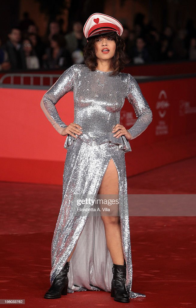 Actress Rii Send attends 'Tasher Desh' Premiere during the 7th Rome Film Festival at Auditorium Parco Della Musica on November 11, 2012 in Rome, Italy.