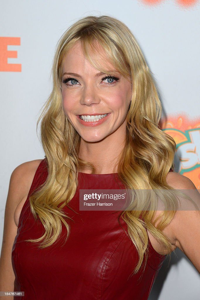 Actress Riki Lindhome arrives at the Premiere of Paramount Pictures' 'Fun Size' at Paramount Theater on the Paramount Studios lot on October 25, 2012 in Hollywood, California.