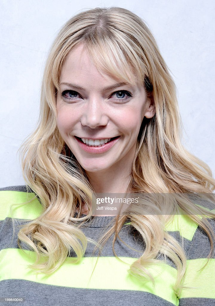 Actress Riki Lindhome poses for a portrait during the 2013 Sundance Film Festival at the WireImage Portrait Studio at Village At The Lift on January 21 2013 in Park City, Utah.