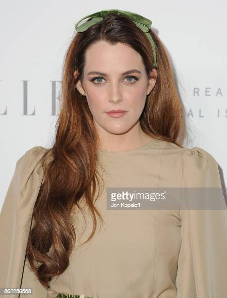 Actress Riley Keough arrives at ELLE's 24th Annual Women in Hollywood Celebration at Four Seasons Hotel Los Angeles at Beverly Hills on October 16...
