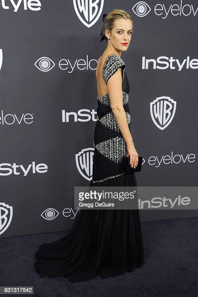 Actress Riley Keough arrives at the 18th Annual PostGolden Globes Party hosted by Warner Bros Pictures and InStyle at The Beverly Hilton Hotel on...