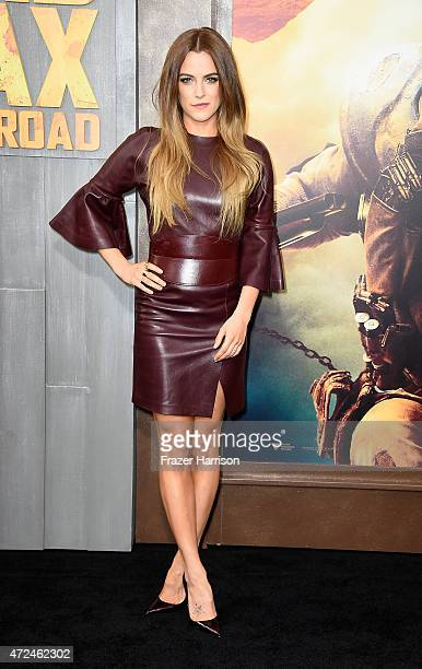 Actress Riley Keough arrives at the Premiere Of Warner Bros Pictures' 'Mad Max Fury Road' at TCL Chinese Theatre on May 7 2015 in Hollywood California