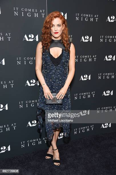 Actress Riley Keough attends the 'It Comes At Night' New York premiere at The Metrograph on June 5 2017 in New York City
