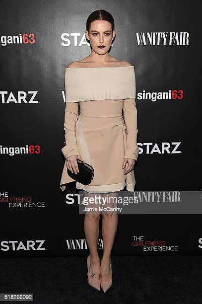 Actress Riley Keough attends the New York premiere of 'The Girlfriend Experience' at The Paris Theatre on March 30 2016 in New York City