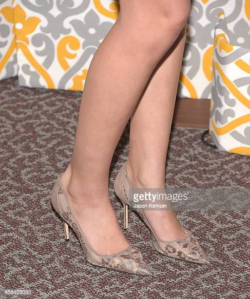 Actress Riley Voelkel attends the premiere of HBO's 'Newsroom' Season 3 at Directors Guild Of America on November 4 2014 in Los Angeles California