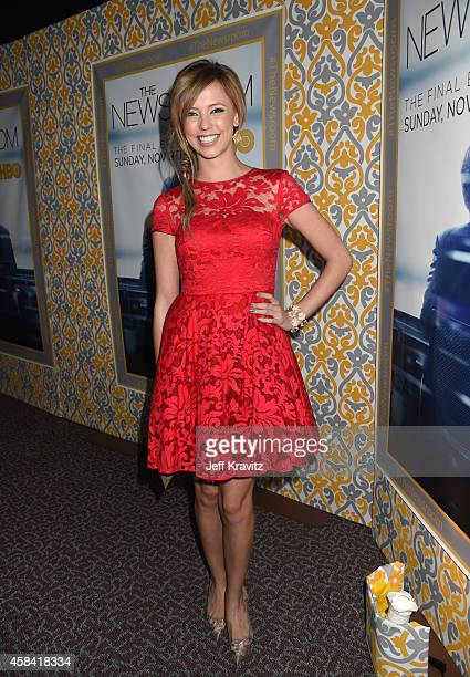 Actress Riley Voelkel attends the premiere of HBO's 'The Newsroom' Season 3 at the DGA Theater on November 4 2014 in Los Angeles California